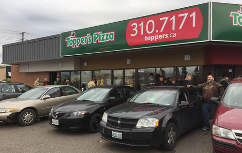 Topper's Pizza Thunder Bay