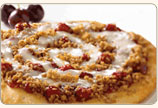 Cherry Crisp Dessert Pizza